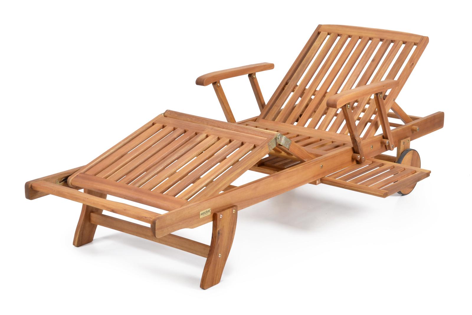 Záhradné lehátko - Hecht - Comfort (akácia)