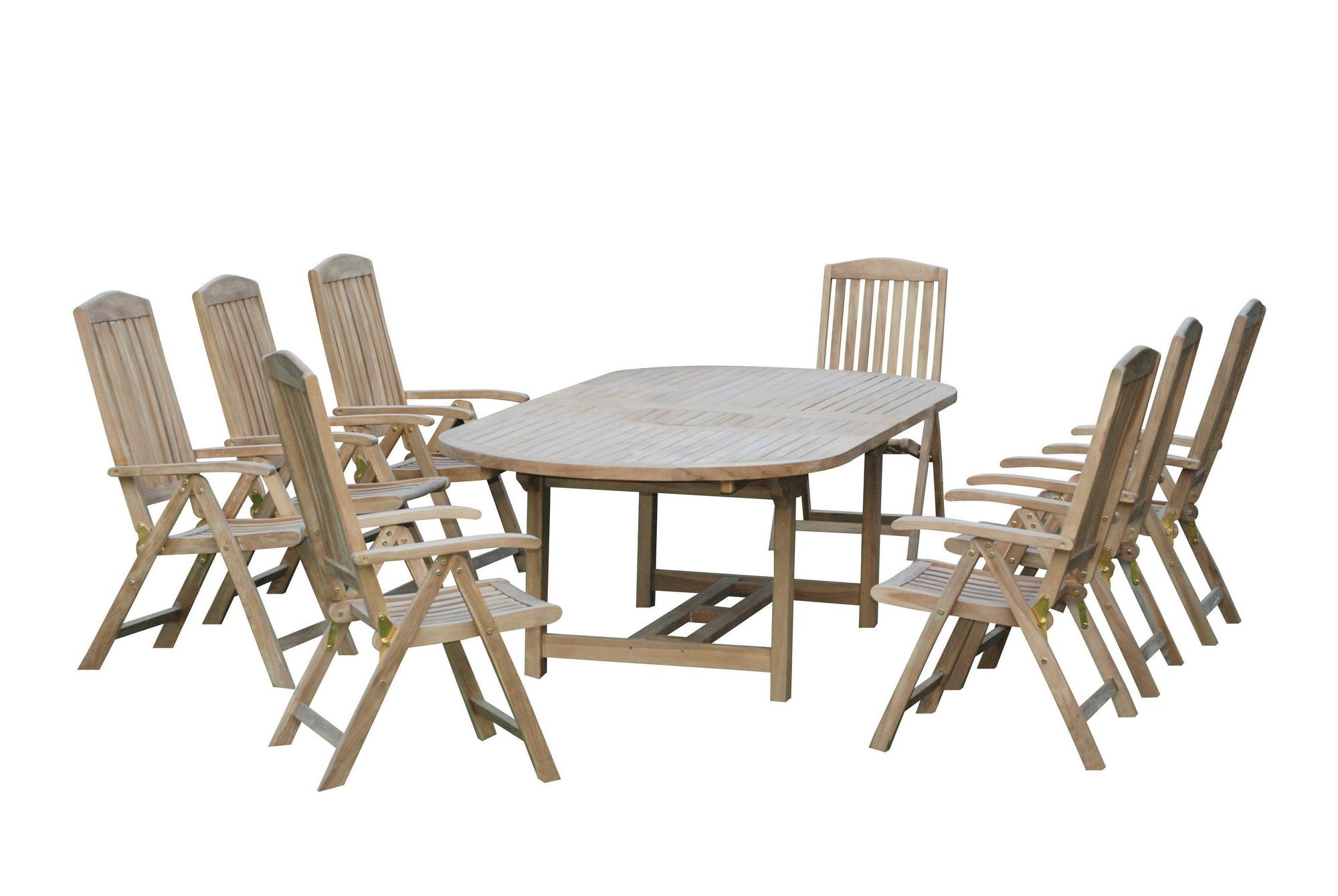 6d6921d96056 Záhradný nábytok Hecht Grandeur set 1+8 (teak)