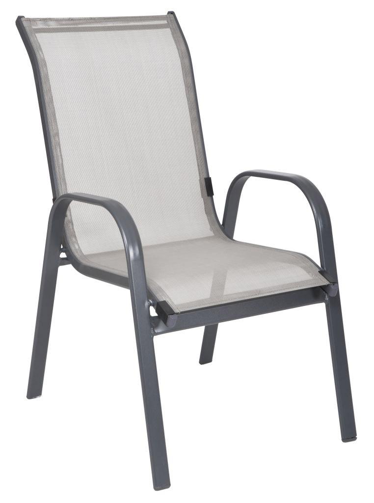 Záhradná stolička - Hecht - Sofia HFCO19 (hliník)