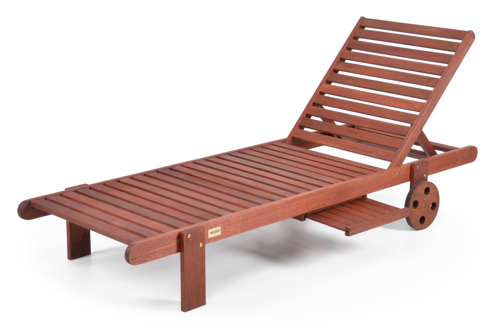 Záhradné lehátko - Hecht - Resort I (meranti)
