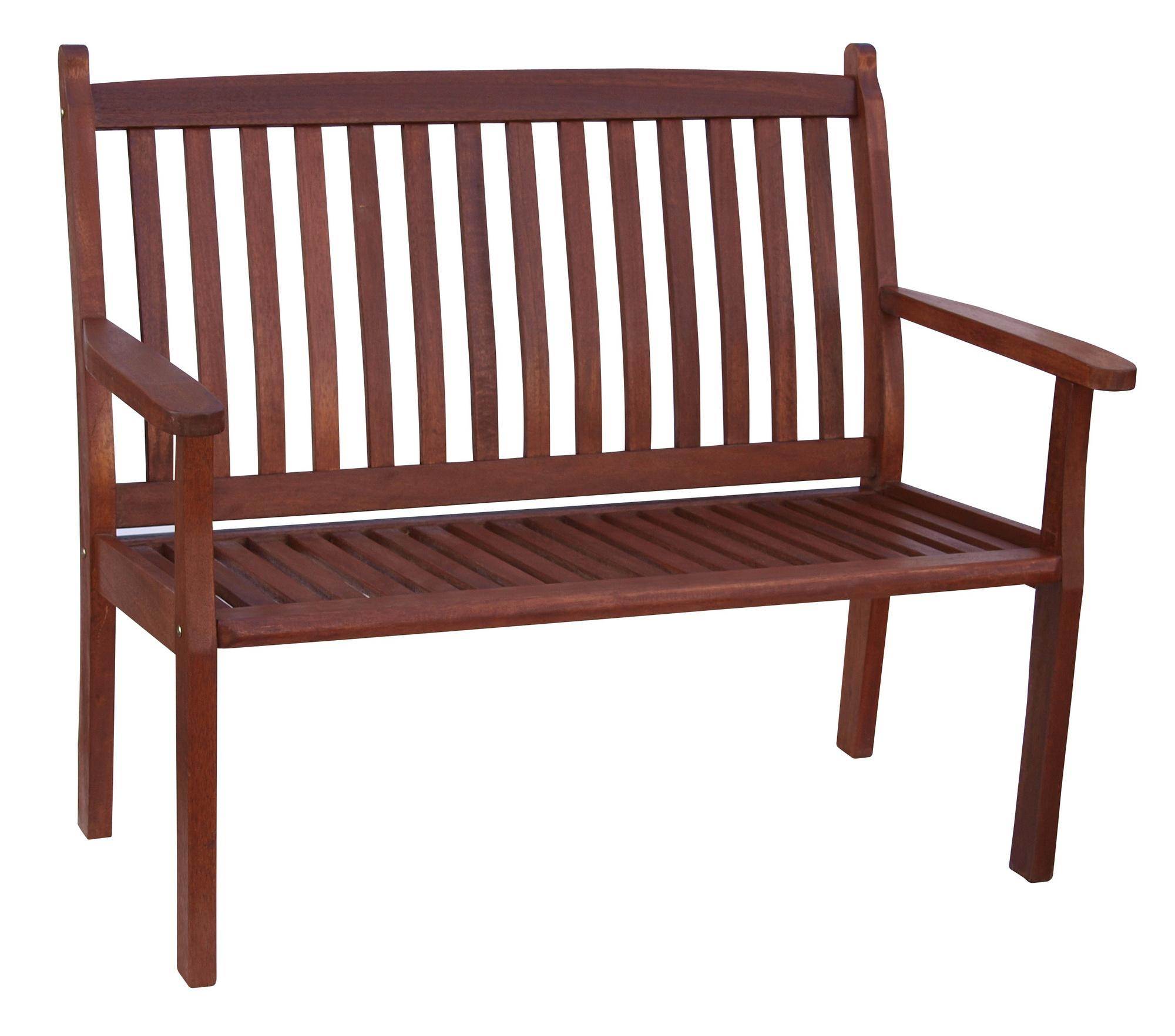 Záhradná lavička - Hecht - Wisconsin (meranti)