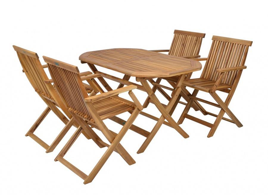 Záhradný nábytok - Hecht - Basic set 4 (akácia). Sme autorizovaný predajca Hecht. Vlastná spoľahlivá doprava až k Vám domov.