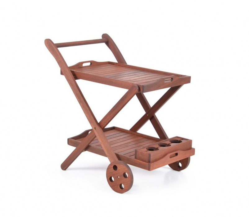 Záhradný servírovací stolík - Hecht - Serving (meranti). Sme autorizovaný predajca Hecht. Vlastná spoľahlivá doprava až k Vám domov.