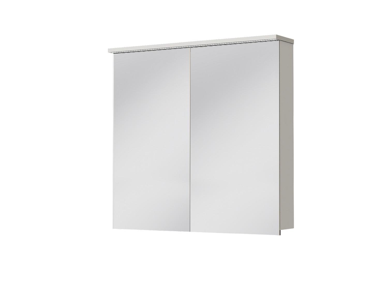 Kúpeľňová skrinka na stenu - Juventa - Monza - MnMC-80 W (so zrkadlom) (s osvetlením). Sme autorizovaný predajca Juventa. Vlastná spoľahlivá doprava až k Vám domov.