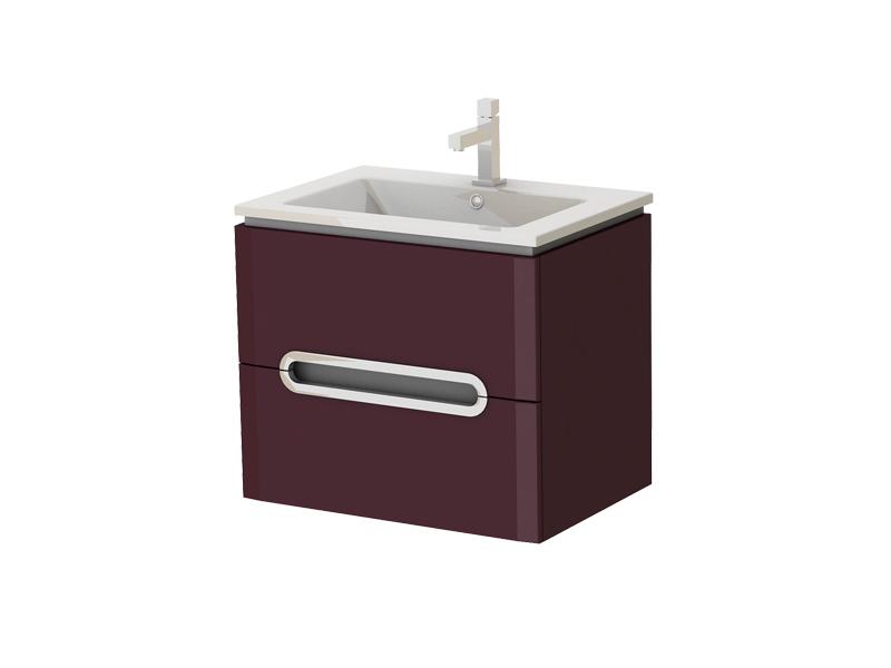Kúpeľňová skrinka na stenu s umývadlom - Juventa - Prato - Pr-65 C. Sme autorizovaný predajca Juventa. Vlastná spoľahlivá doprava až k Vám domov.