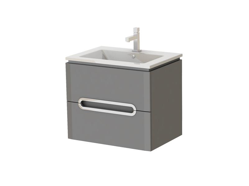 Kúpeľňová skrinka na stenu s umývadlom - Juventa - Prato - Pr-65 G. Sme autorizovaný predajca Juventa. Vlastná spoľahlivá doprava až k Vám domov.