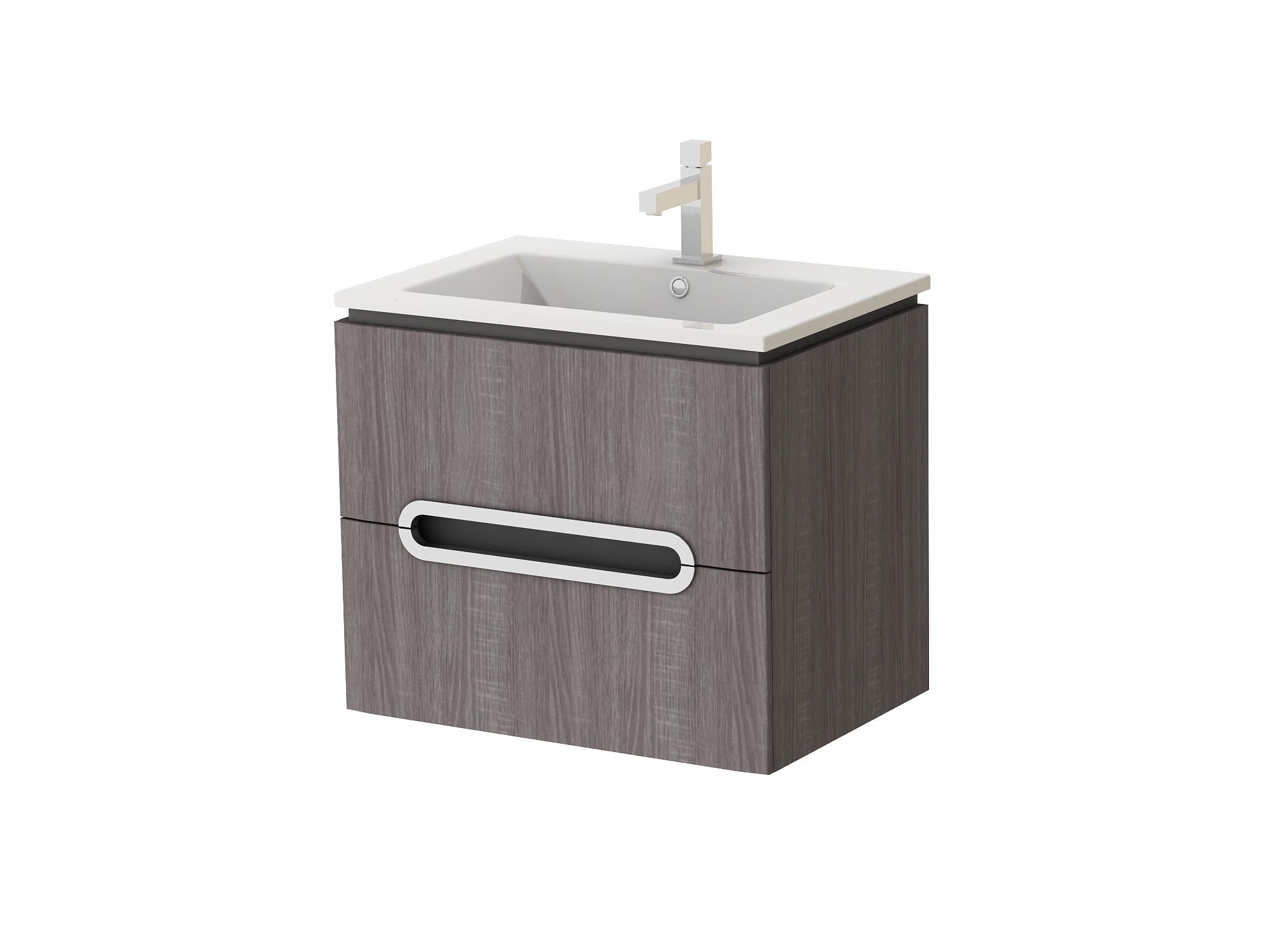 Kúpeľňová skrinka na stenu s umývadlom - Juventa - Prato - Pr-65 TR. Sme autorizovaný predajca Juventa. Vlastná spoľahlivá doprava až k Vám domov.