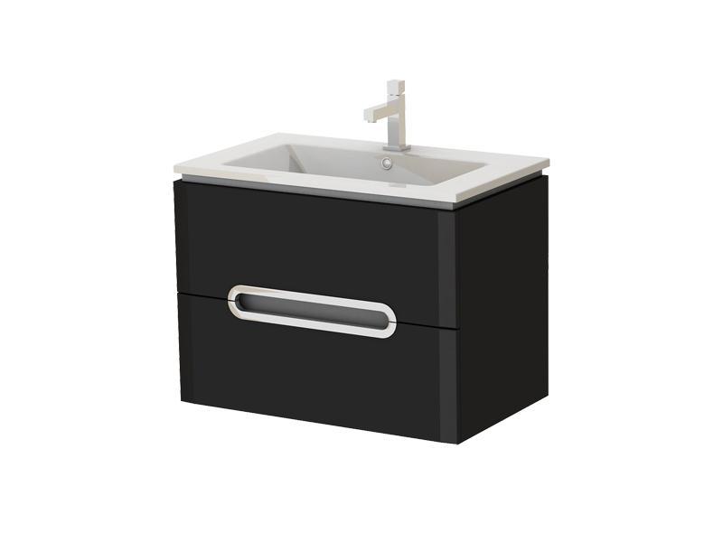 Kúpeľňová skrinka na stenu s umývadlom - Juventa - Prato - Pr-75 B. Sme autorizovaný predajca Juventa. Vlastná spoľahlivá doprava až k Vám domov.