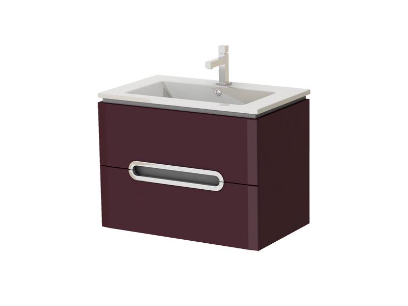 Kúpeľňová skrinka na stenu s umývadlom - Juventa - Prato - Pr-75 C. Sme autorizovaný predajca Juventa. Vlastná spoľahlivá doprava až k Vám domov.
