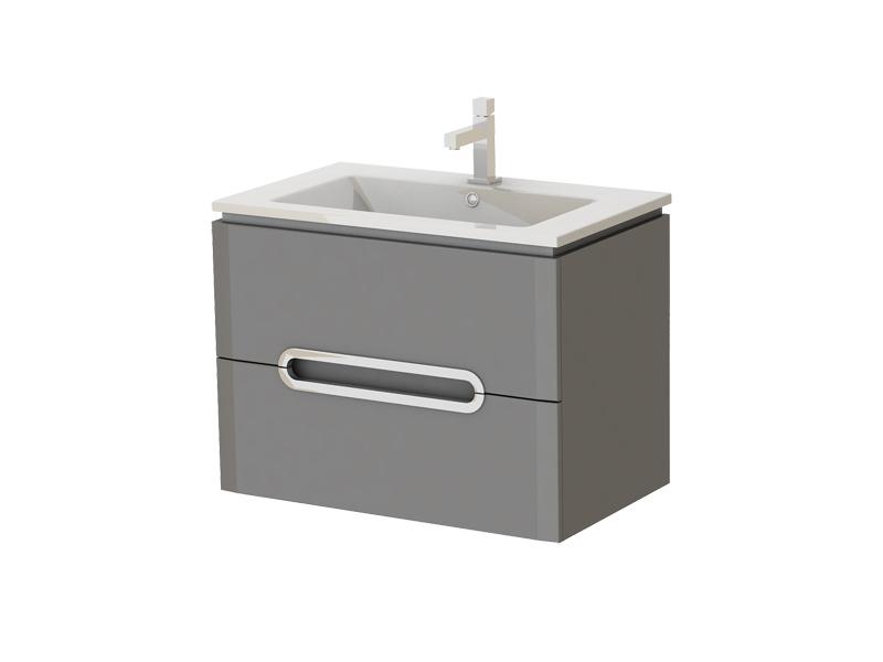 Kúpeľňová skrinka na stenu s umývadlom - Juventa - Prato - Pr-75 G. Sme autorizovaný predajca Juventa. Vlastná spoľahlivá doprava až k Vám domov.