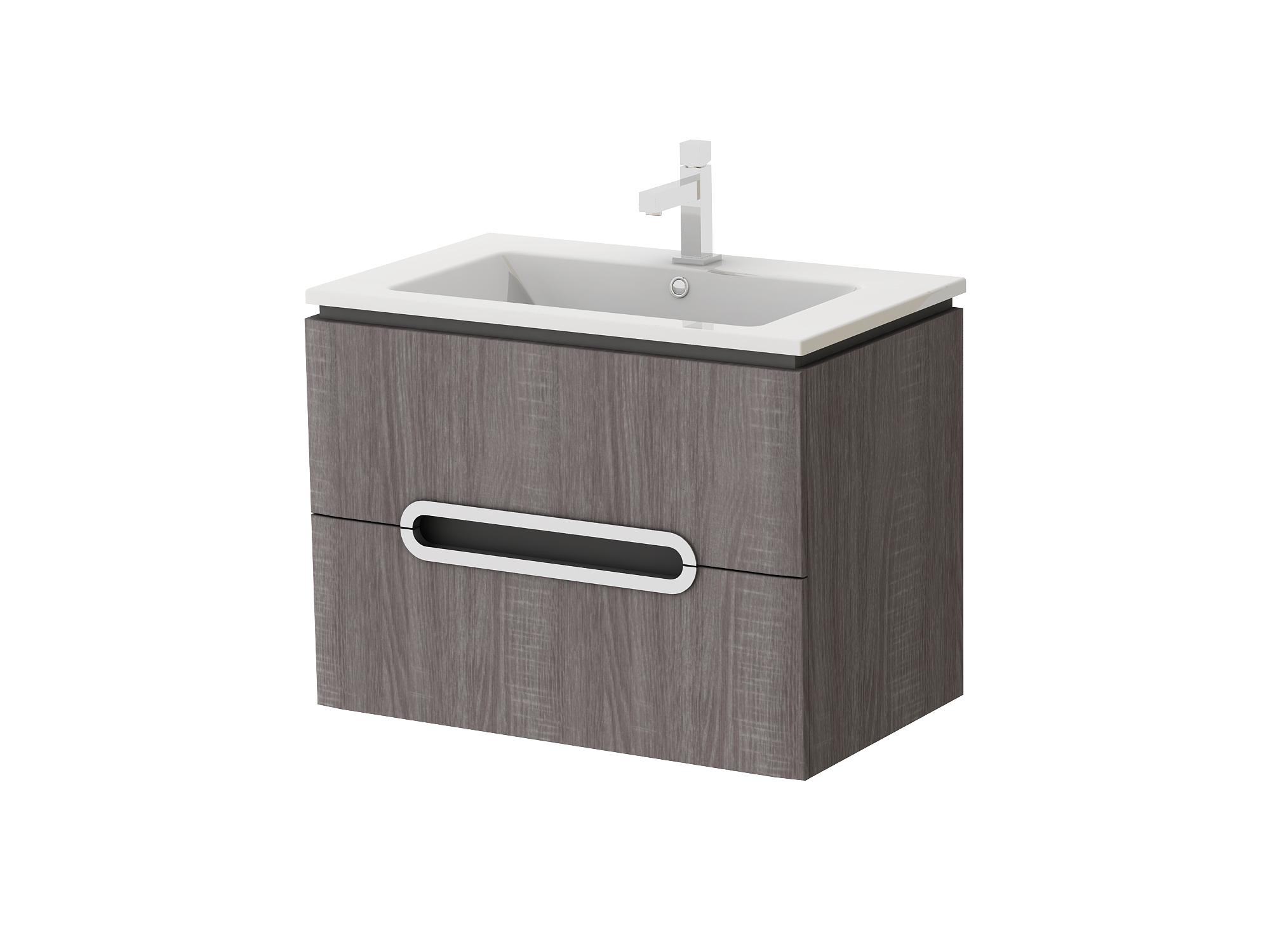 Kúpeľňová skrinka na stenu s umývadlom - Juventa - Prato - Pr-75 TR. Sme autorizovaný predajca Juventa. Vlastná spoľahlivá doprava až k Vám domov.