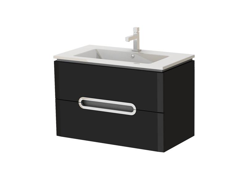 Kúpeľňová skrinka na stenu s umývadlom Juventa Prato Pr-85 B