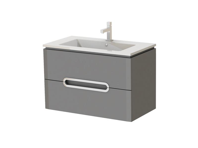 Kúpeľňová skrinka na stenu s umývadlom Juventa Prato Pr-85 G