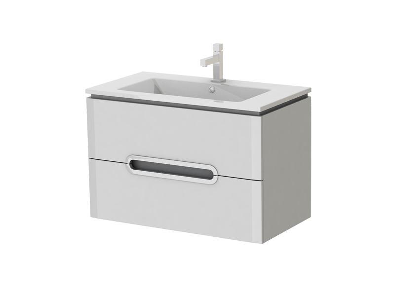 Kúpeľňová skrinka na stenu s umývadlom Juventa Prato Pr-85 W
