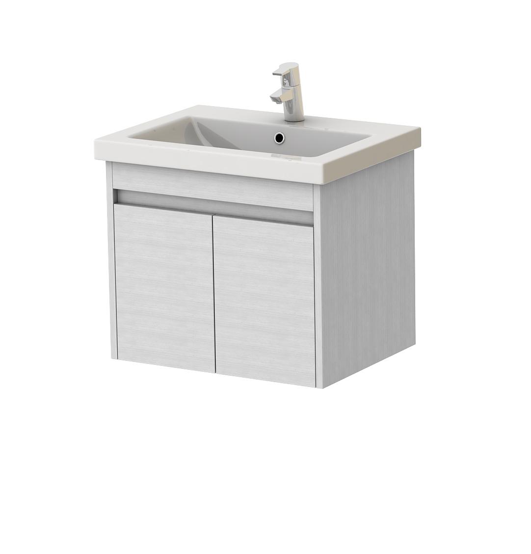 Kúpeľňová skrinka na stenu s umývadlom - Juventa - Ravenna - Rv-60 (biela). Sme autorizovaný predajca Juventa. Vlastná spoľahlivá doprava až k Vám domov.
