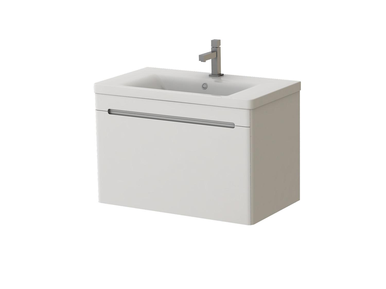 Kúpeľňová skrinka na stenu s umývadlom Juventa Tivoli Tv-80 W