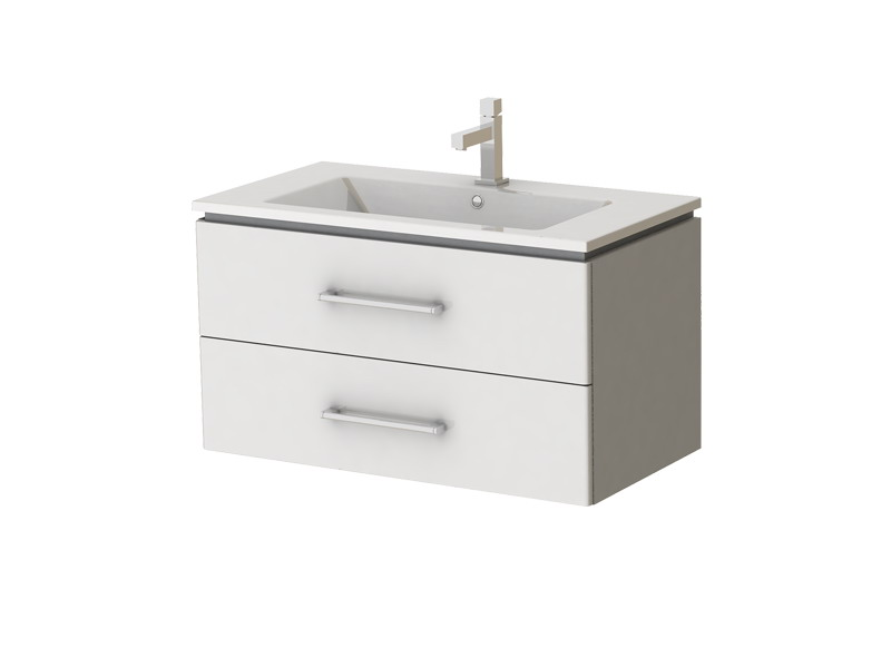 Kúpeľňová skrinka na stenu s umývadlom - Juventa - Zlata - Zl-85 W. Sme autorizovaný predajca Juventa. Vlastná spoľahlivá doprava až k Vám domov.