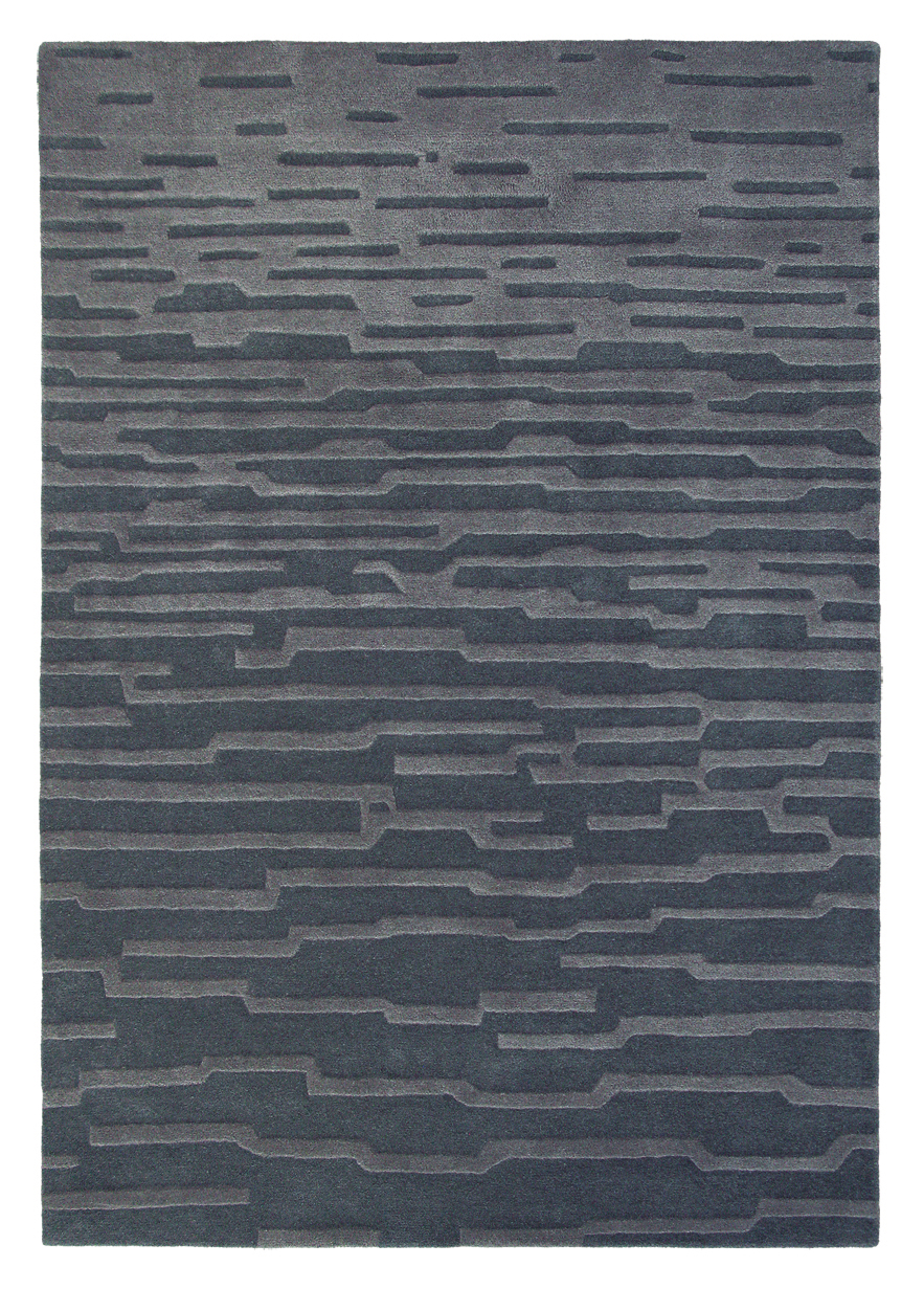 Ručne všívaný koberec - Harlequin - Enigma - Charcoal 43505