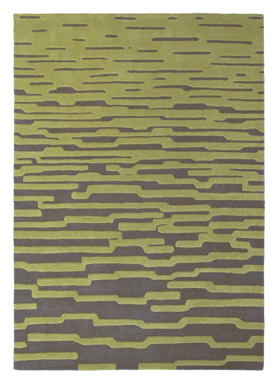Ručne všívaný koberec - Harlequin - Enigma - Lime 43507