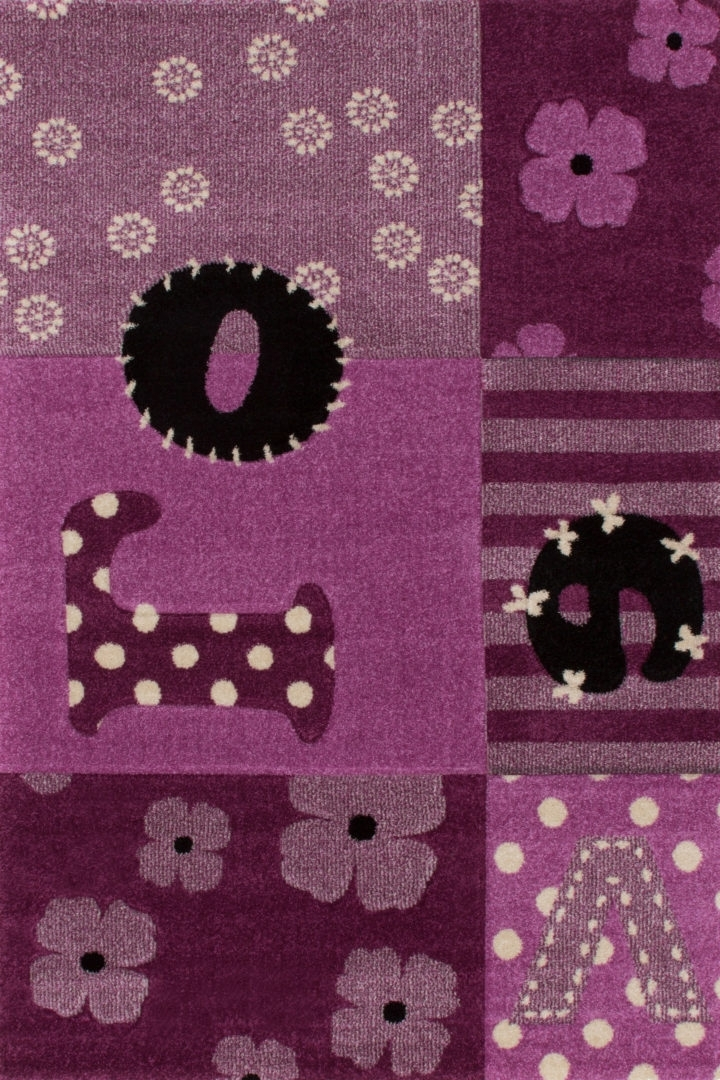 Detský koberec - Lalee - Amigo 309 Violet (150 x 100 cm)