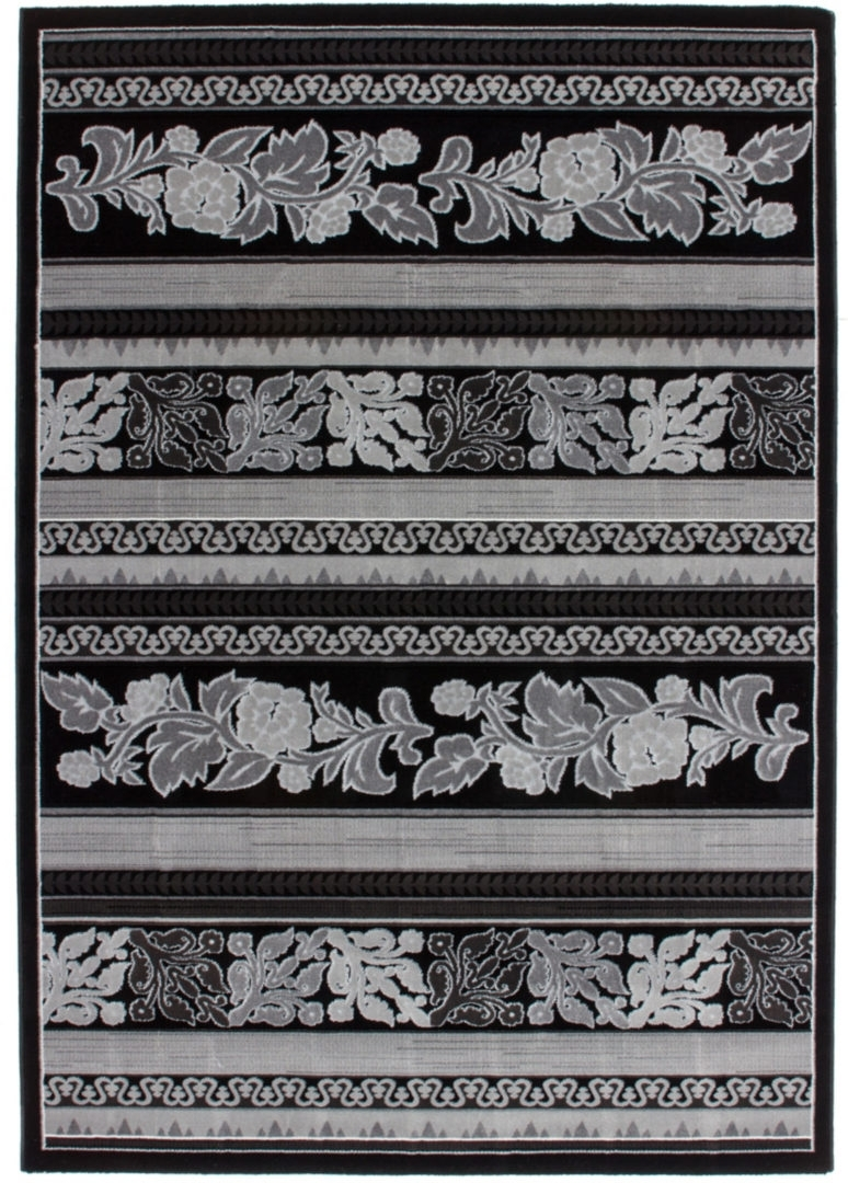 Kusový koberec Aura 777 Black (150 x 80 cm)
