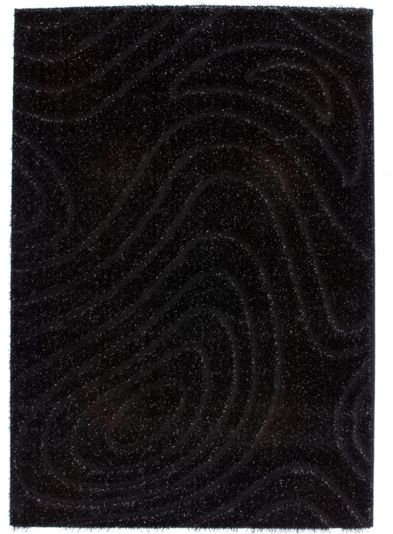 Kusový koberec Sedef 275 Black (150 x 80 cm)