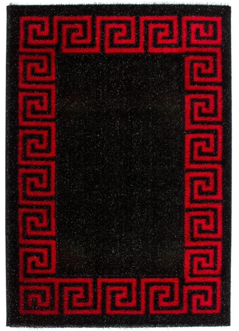 Kusový koberec Sedef 277 Black (150 x 80 cm)