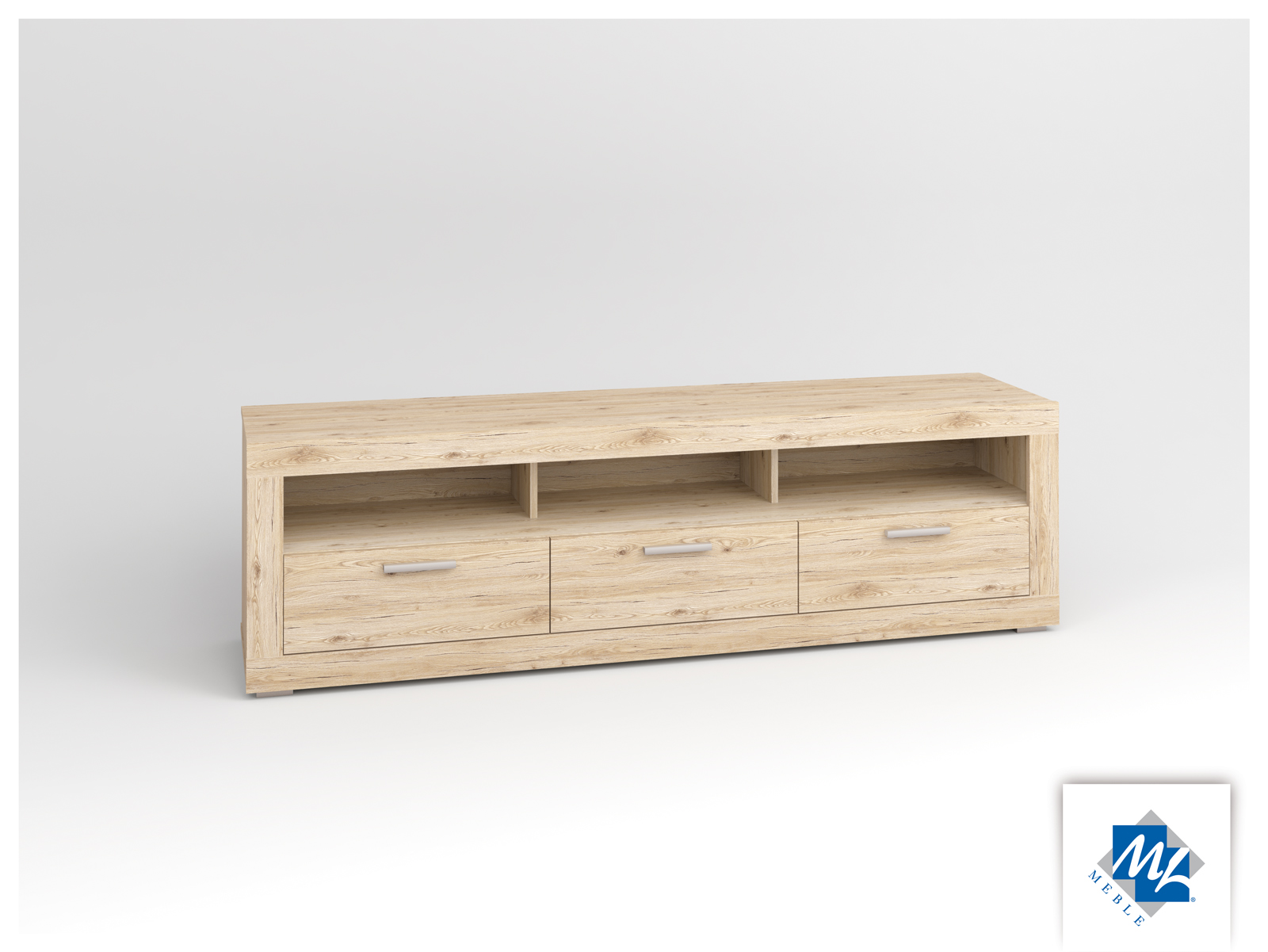 TV stolík/skrinka - ML Nábytok - Modern 12 dub San Remo