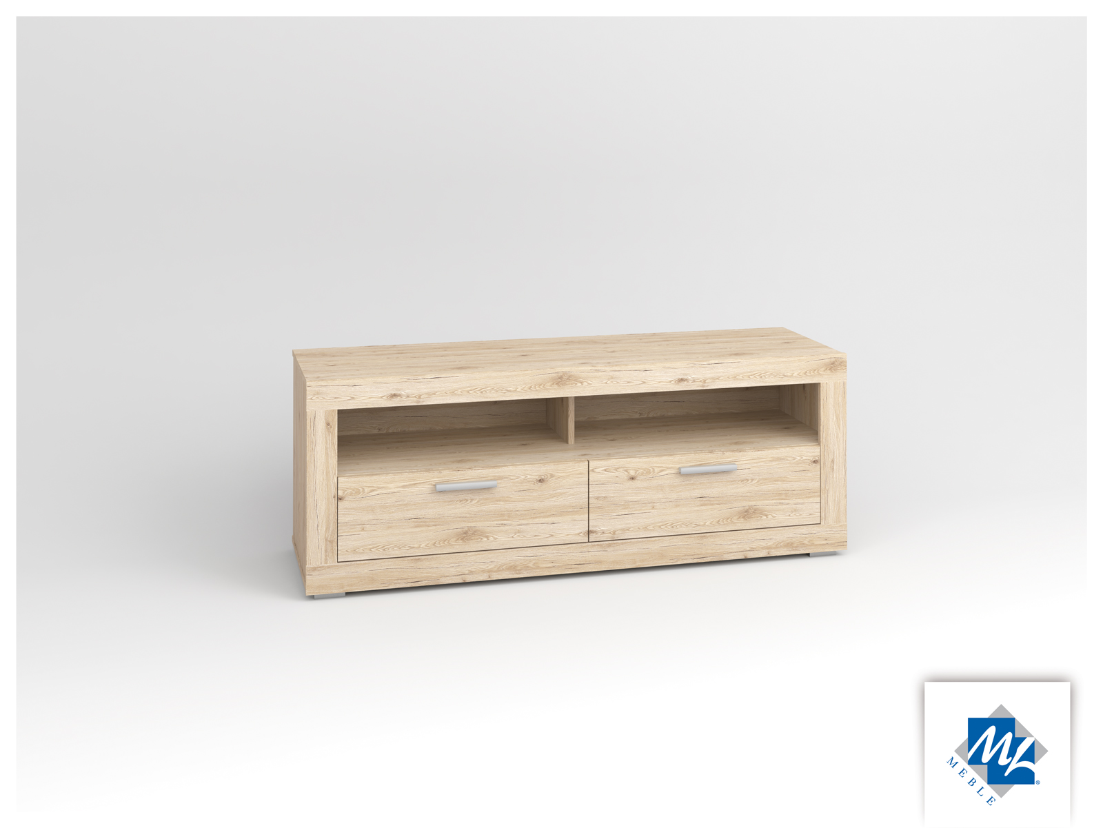 TV stolík/skrinka - ML Nábytok - Modern 13 dub San Remo