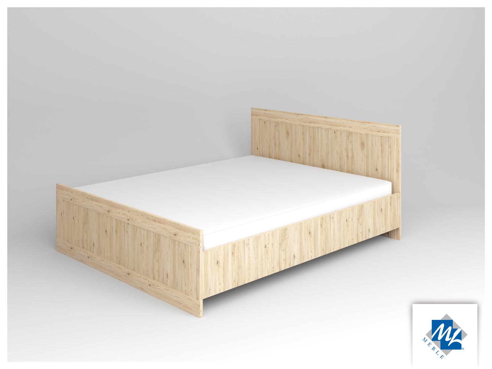 Manželská posteľ 160 cm - ML Nábytok - Modern 16 dub San Remo