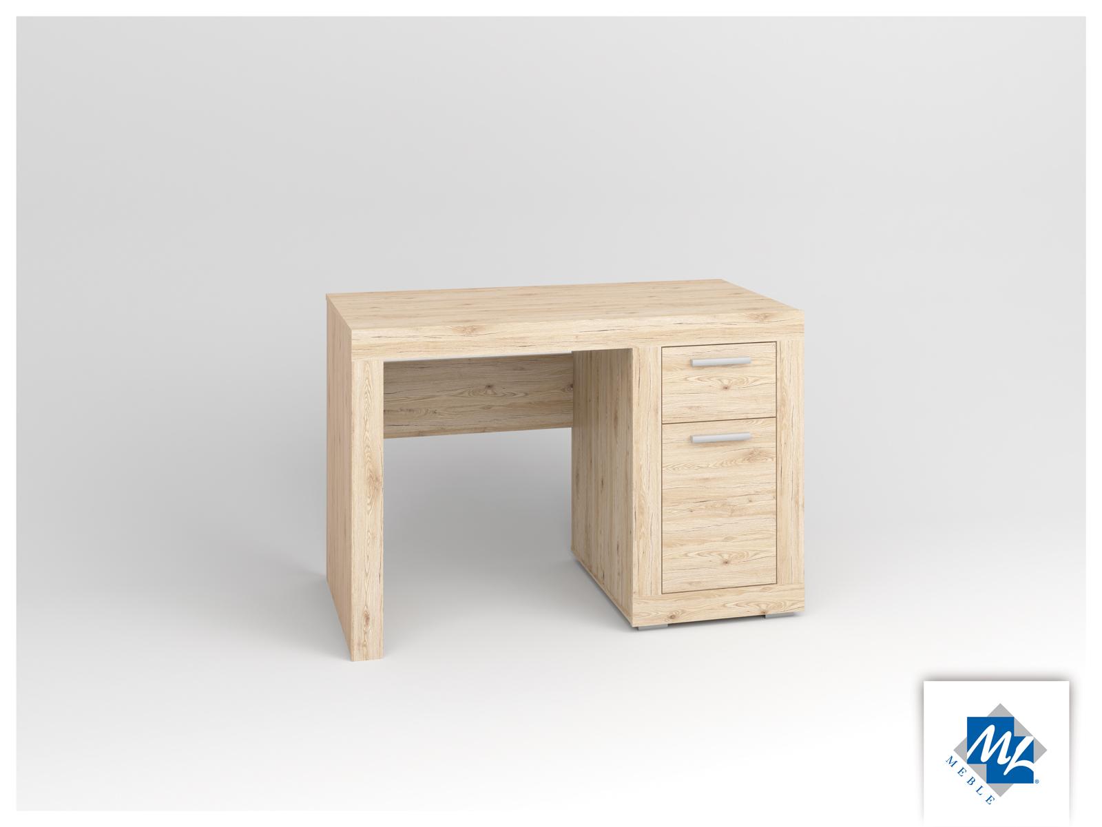 PC stolík - ML Nábytok - Modern 18 dub San Remo