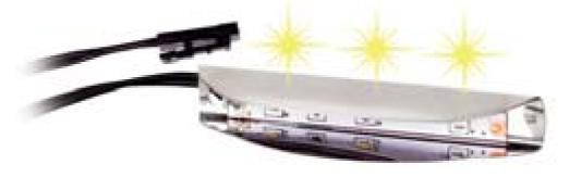 LED osvetlenie - ML Nábytok - Modern biele