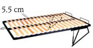 Lamelový rošt 200x140 cm - ML Nábytok - Modern - WKL 140-01 MET