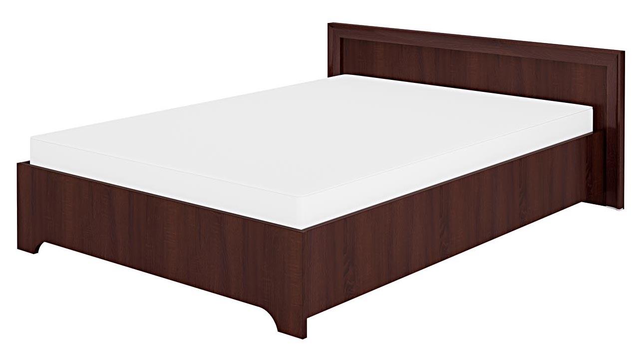 Manželská posteľ 140 cm - ML Nábytok - Oliwier 28 sonoma tmavá
