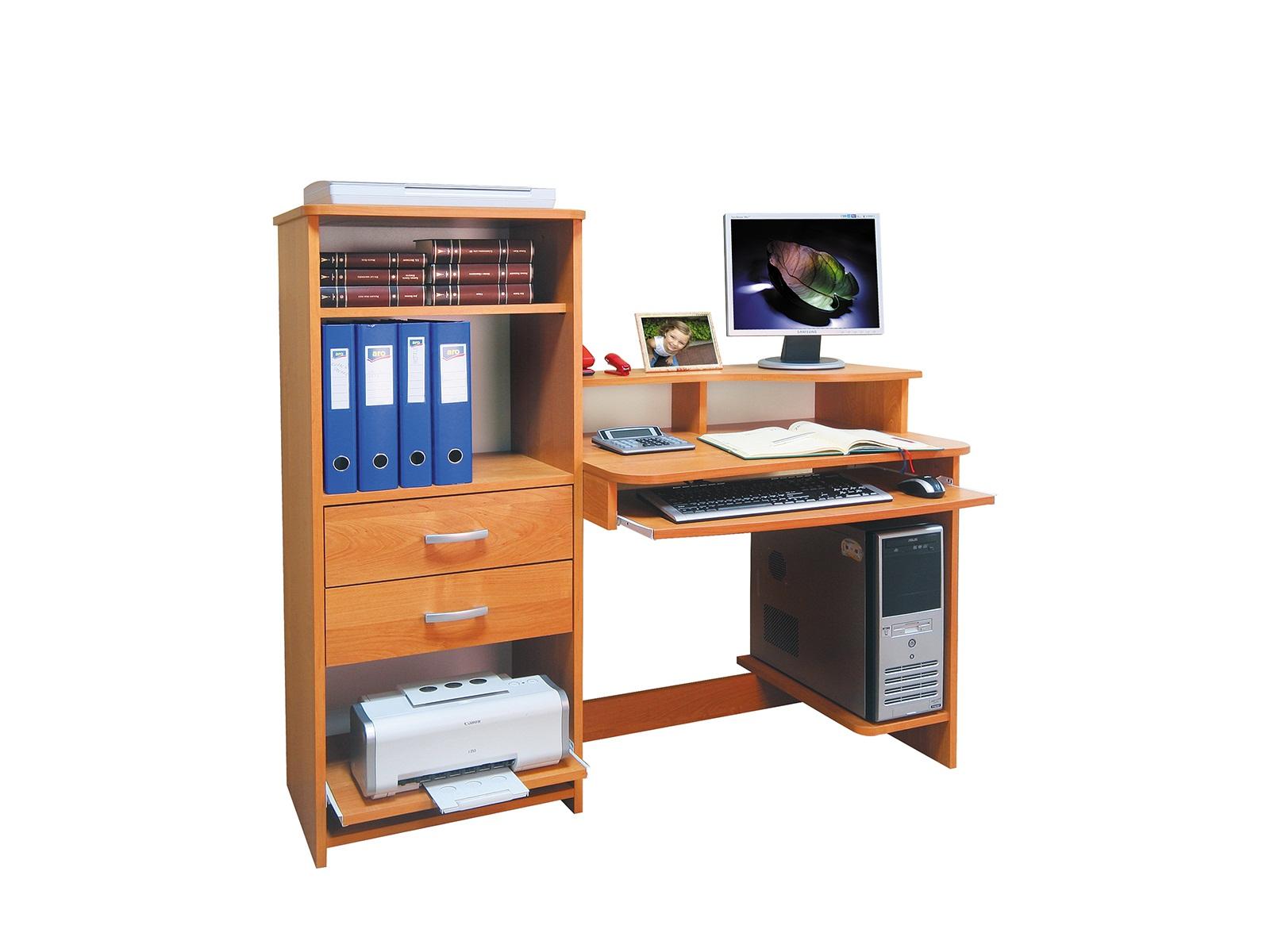 PC stolík - ML Nábytok - Boston L / P