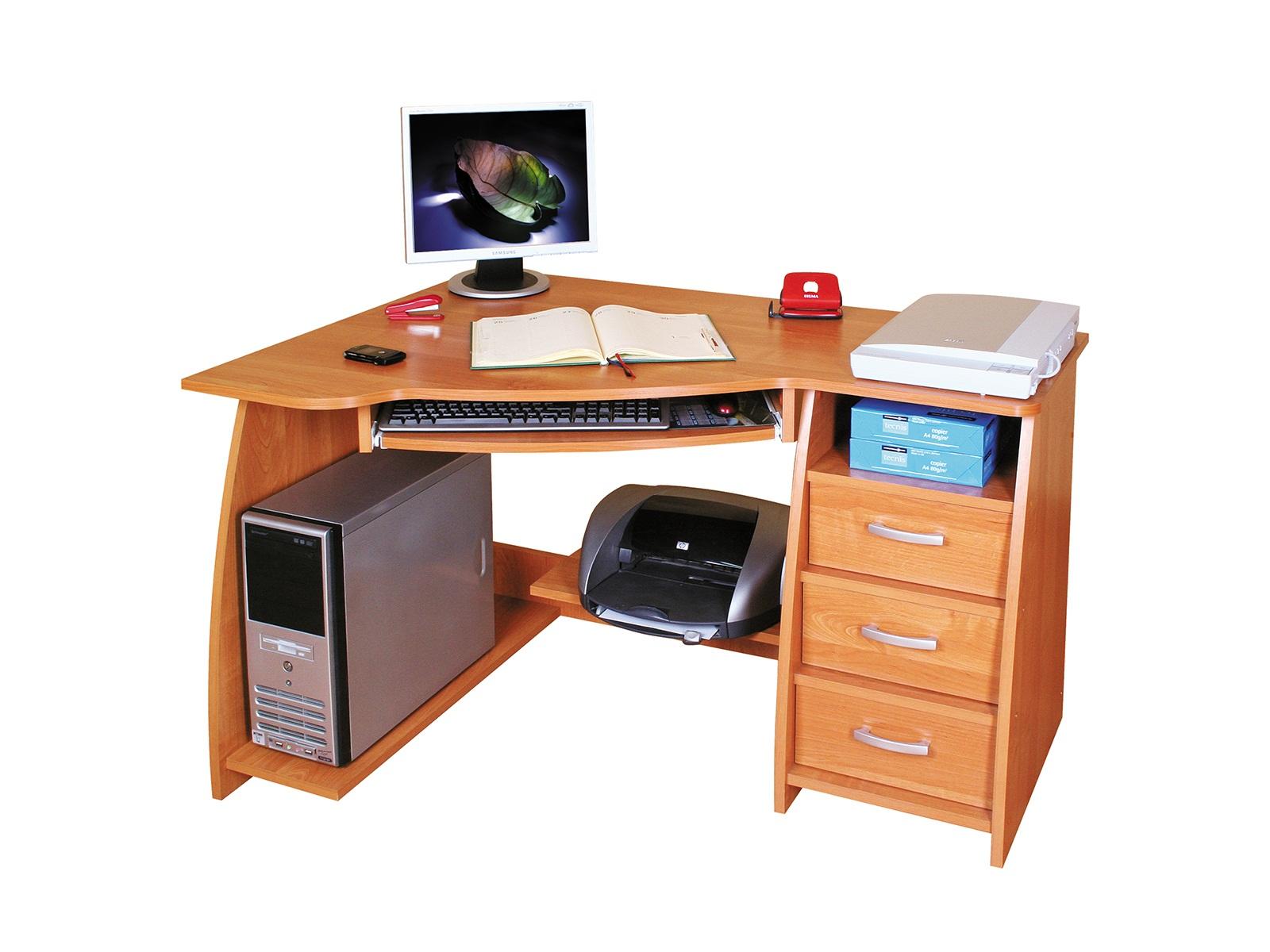 Rohový PC stolík - ML Nábytok - Jocker L / P