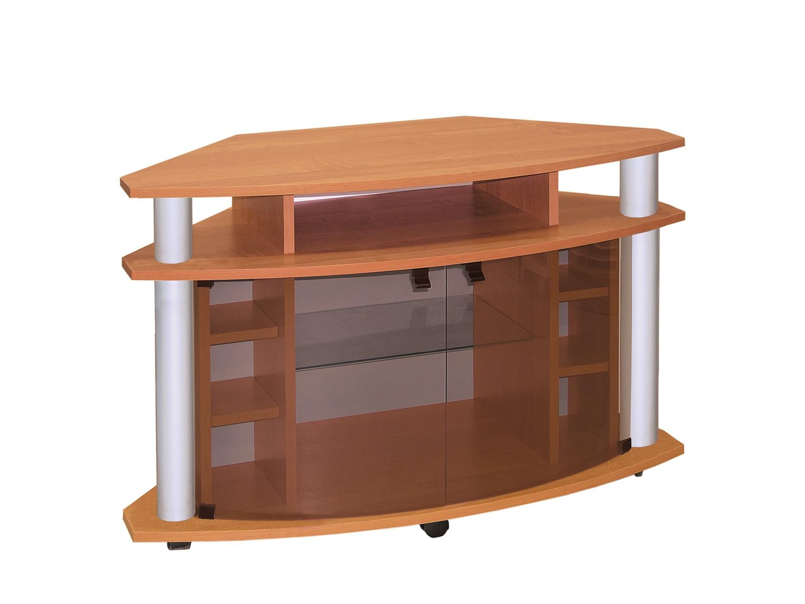 Rohový TV stolík - ML Nábytok - Robi II