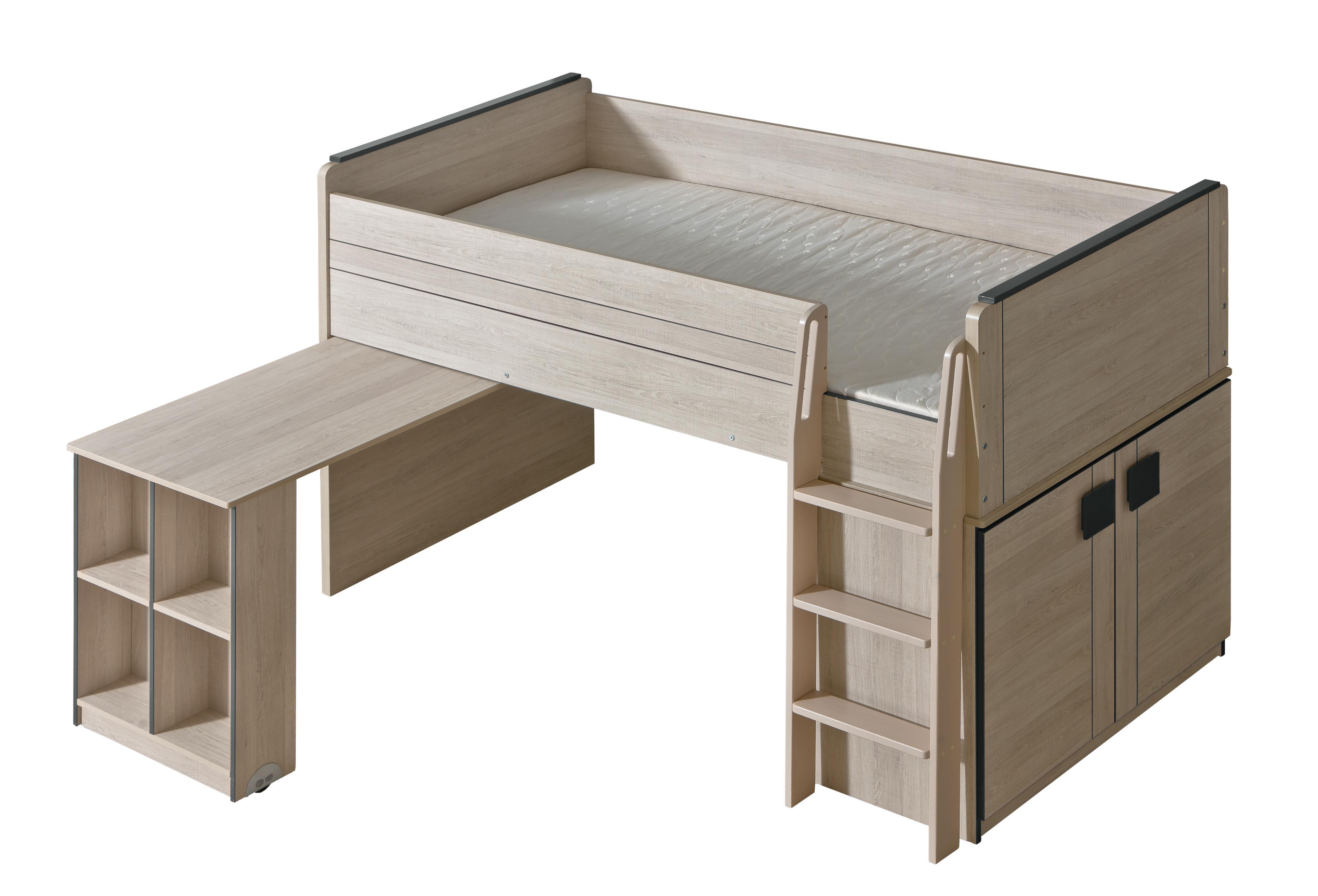 Poschodová posteľ 90 cm - Gemo - G15 (s roštom). Akcia -32%. Vlastná spoľahlivá doprava až k Vám domov.