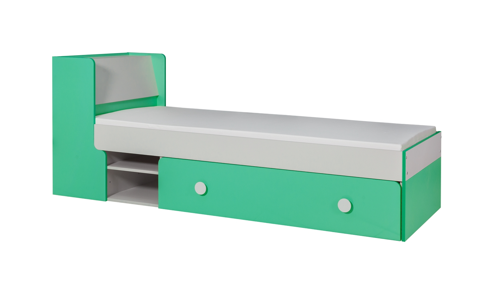 Jednolôžková posteľ 80 cm - MOB - Yan 13 (s roštom)