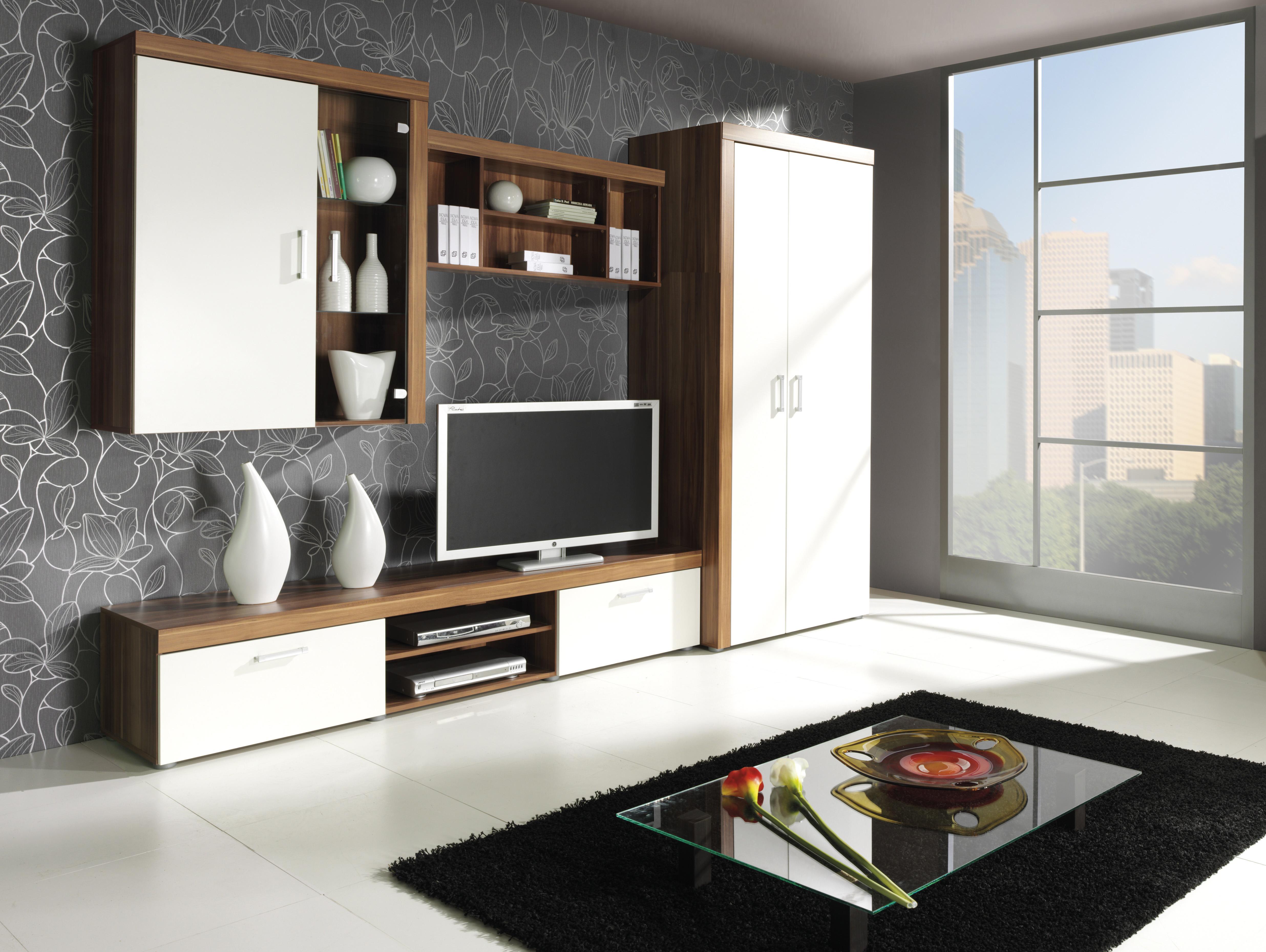 Obývacia stena - Salford - 1. Akcia -33%. Vlastná spoľahlivá doprava až k Vám domov.