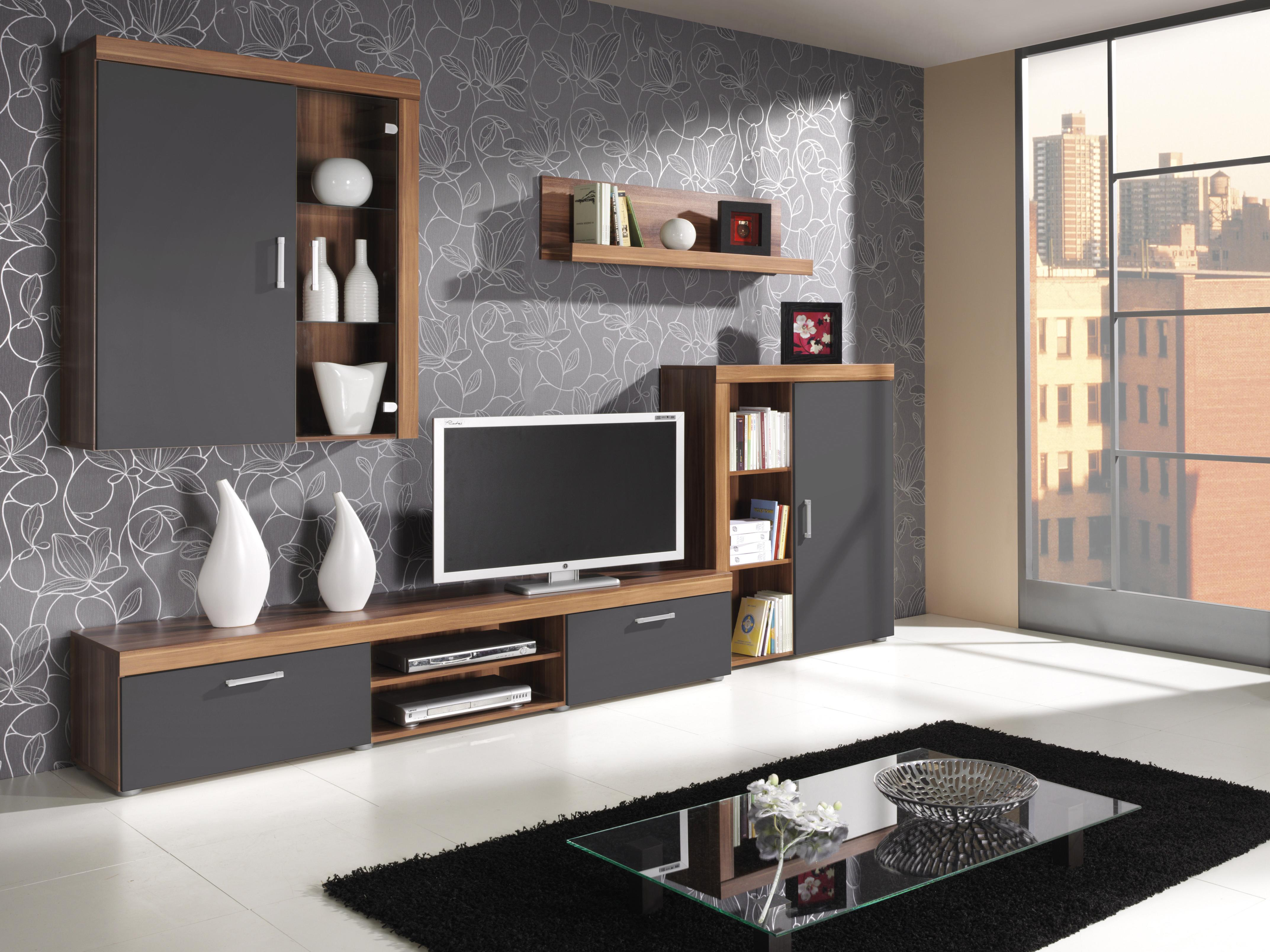 Obývacia stena - Salford - 2. Akcia -32%. Vlastná spoľahlivá doprava až k Vám domov.