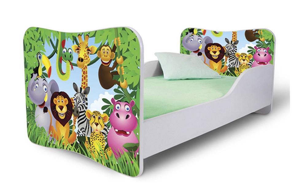 Detská posteľ 140x70 cm - Lena - 17 . Akcia -36%. Vlastná spoľahlivá doprava až k Vám domov.