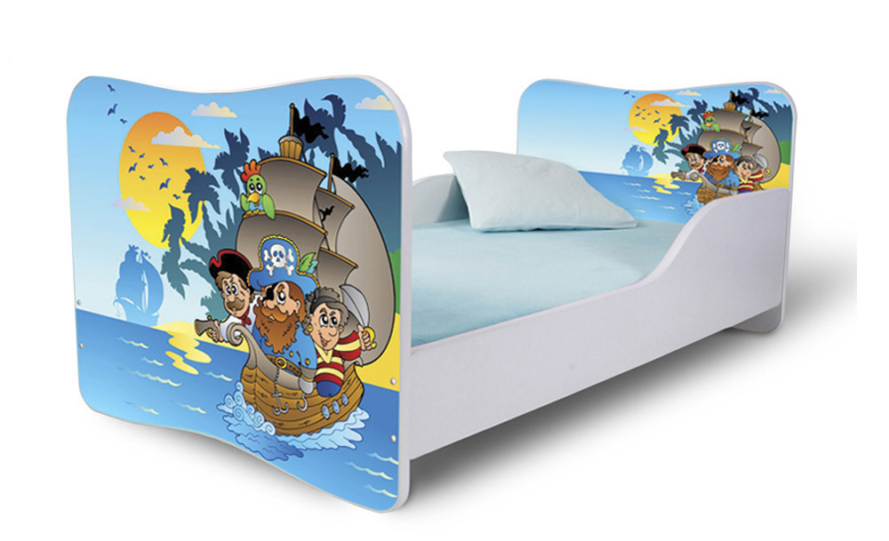 Detská posteľ 180x80 cm - Lena - 18 . Akcia -32%. Vlastná spoľahlivá doprava až k Vám domov.