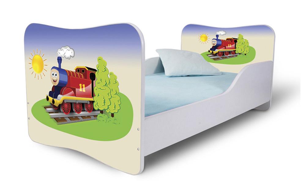 Detská posteľ 140x70 cm - Lena - 19 . Akcia -36%. Vlastná spoľahlivá doprava až k Vám domov.