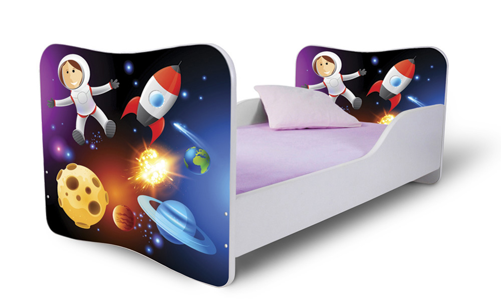 Detská posteľ 180x80 cm - Lena - 34 . Akcia -32%. Vlastná spoľahlivá doprava až k Vám domov.