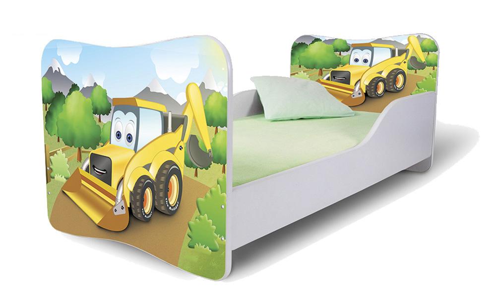 Detská posteľ 140x70 cm - Lena - 37 . Akcia -36%. Vlastná spoľahlivá doprava až k Vám domov.