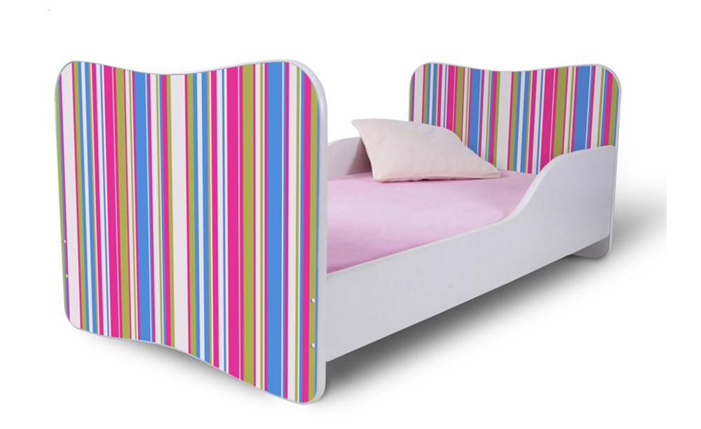 Detská posteľ 140x70 cm - Lena - 04 . Akcia -36%. Vlastná spoľahlivá doprava až k Vám domov.