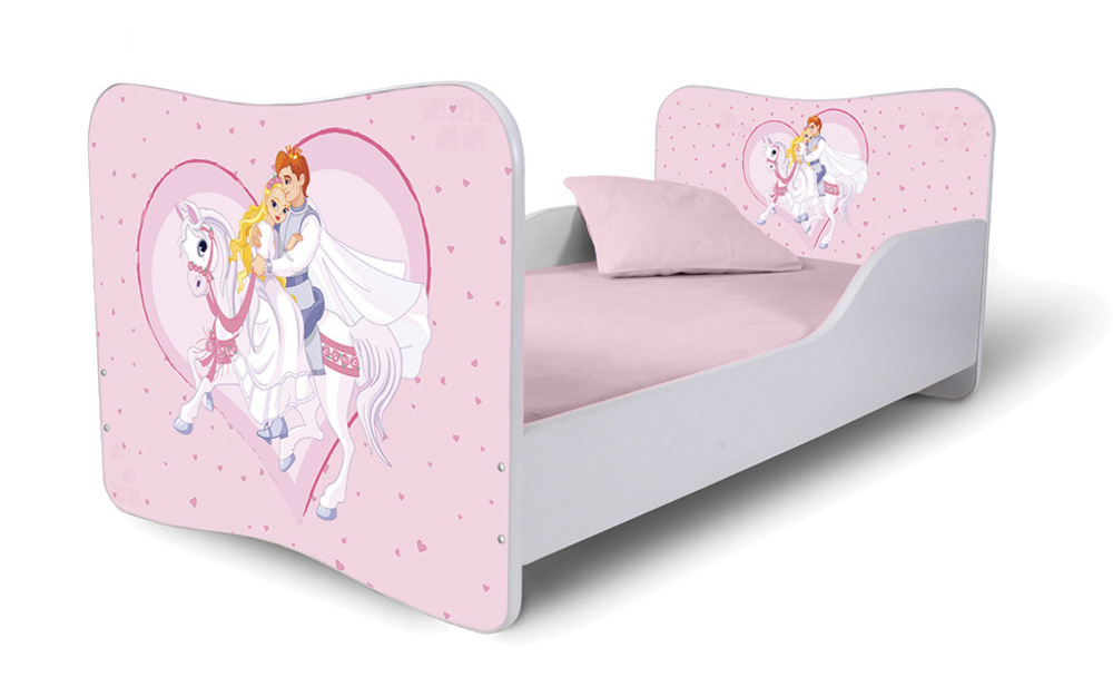Detská posteľ 140x70 cm - Lena - 40 . Akcia -36%. Vlastná spoľahlivá doprava až k Vám domov.
