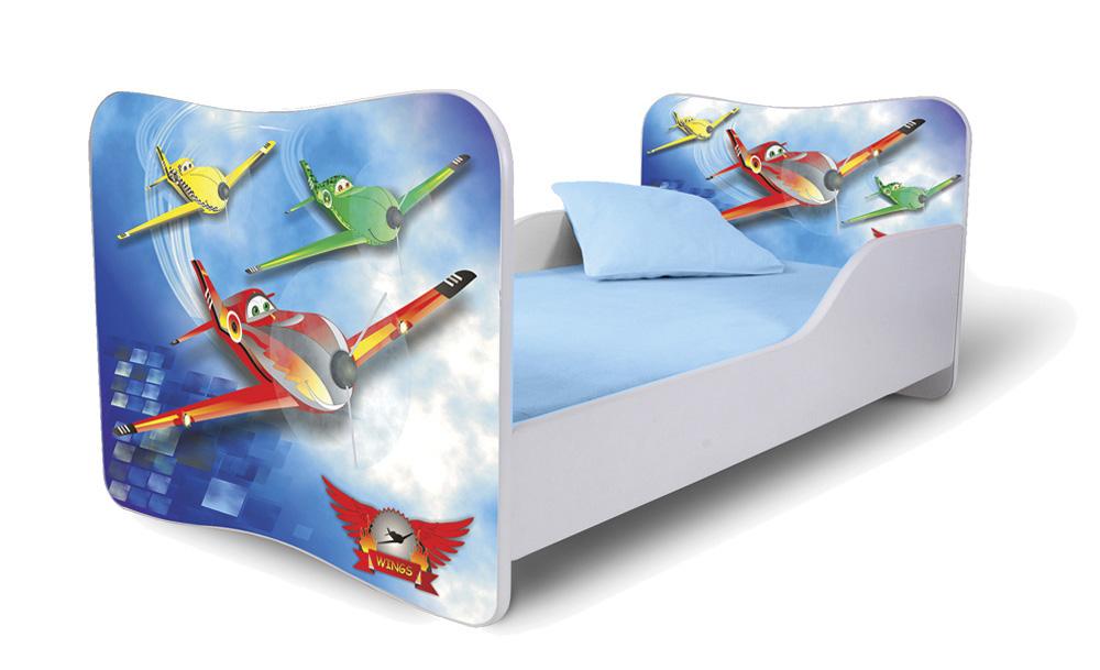 Detská posteľ 180x80 cm - Lena - 43 . Akcia -32%. Vlastná spoľahlivá doprava až k Vám domov.