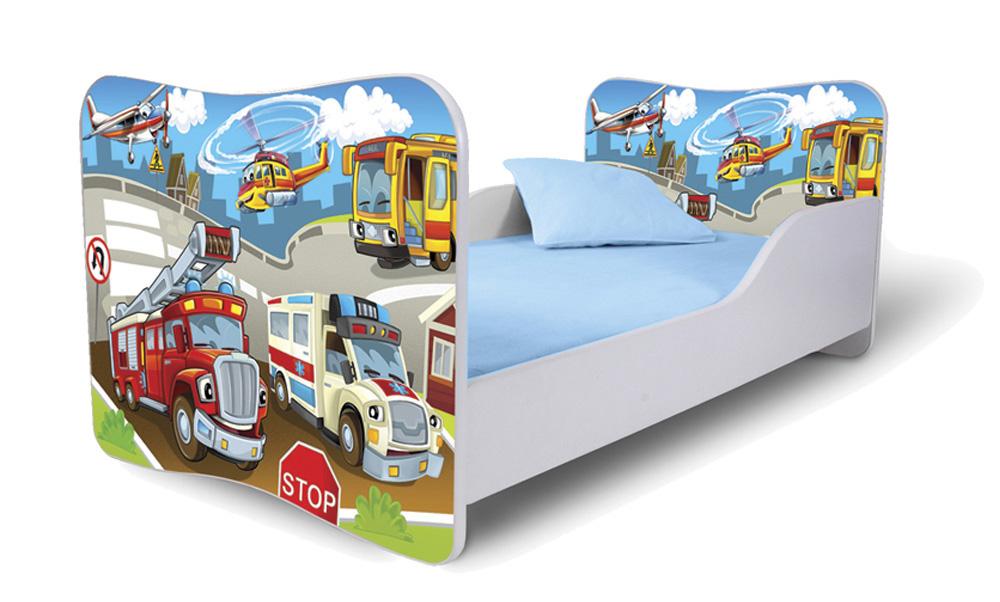 Detská posteľ 180x80 cm - Lena - 52 . Akcia -32%. Vlastná spoľahlivá doprava až k Vám domov.